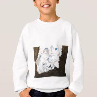 Vitlejon som ut tittar t-shirt