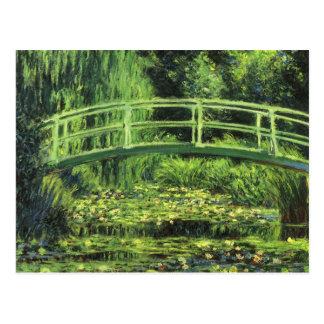 Vitnäckrosor vid Claude Monet, vintagekonst Vykort