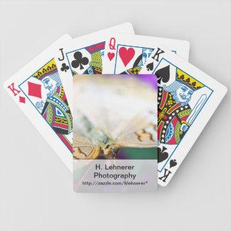 Vitpåfågel Anartia Jatrophae Spelkort