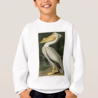 VitpelikanJohn James Audubon fåglar av Amerika Tshirts