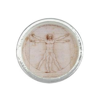 Vitruvian man av Leonardo Da Vinci Ring