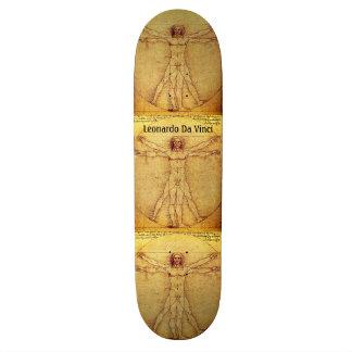 Vitruvian man av Leonardo Da Vinci Skateboard Bräda 20 Cm