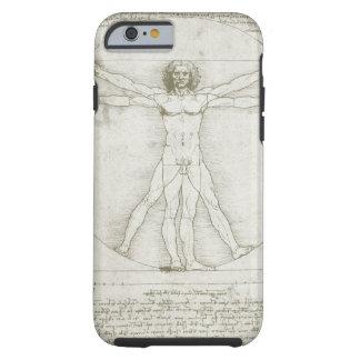Vitruvian man av Leonardo Da Vinci Tough iPhone 6 Skal
