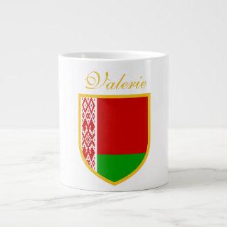 Vitryssland flagga jumbo mugg