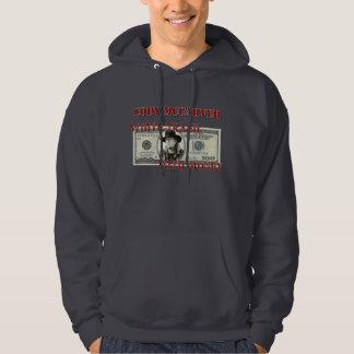 Vitsopor med pengar sweatshirt