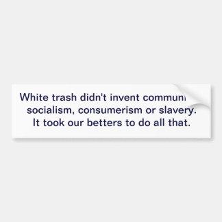 Vitsopor uppfann inte kommunism, socialism,… bildekal