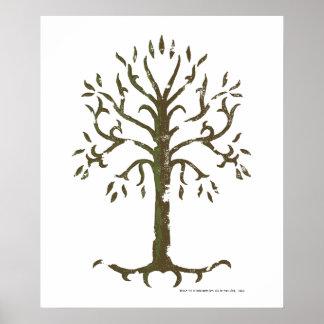 Vitträd av Gondor Poster