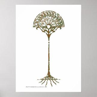 Vitträd av Númenor Poster
