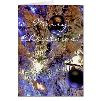 Vitträd [julkortet] hälsningskort
