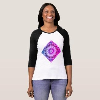 Vitvåren blomstrar 2.0.F.2, mandalastil T-shirts