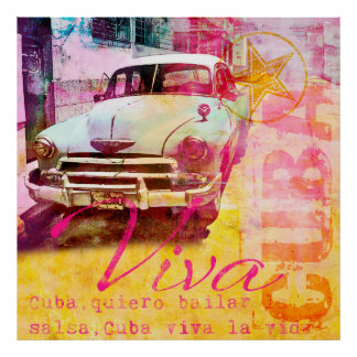 Viva Kuba Poster