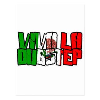 Viva La Dubstep Camisetas Vykort