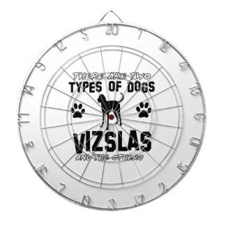 Vizsla hund design piltavla