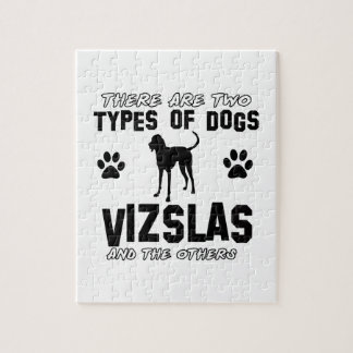Vizsla hund design pussel