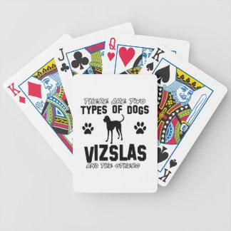Vizsla hund design spelkort