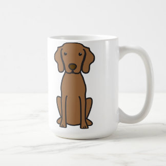 Vizsla hundtecknad kaffemugg