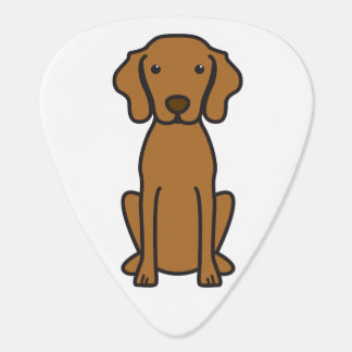 Vizsla hundtecknad plektrum