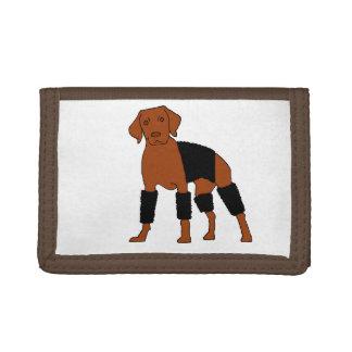 Vizsla Velcrohunden
