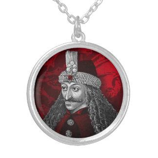 Vlad gotiska Dracula Silverpläterat Halsband