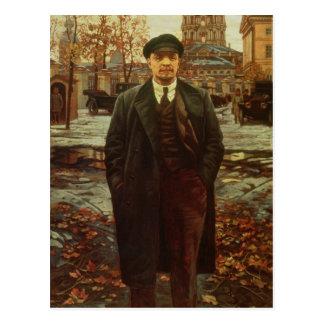 Vladimir Ilyich Lenin på Smolny, c.1925 Vykort