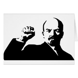 Vladimir Lenin Hälsningskort