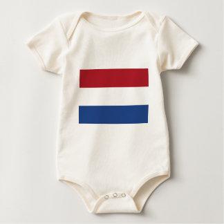 Vlag skåpbil Nederland - flagga av Nederländerna Bodies För Bebisar