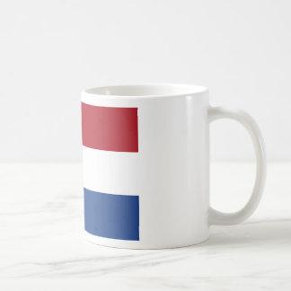 Vlag skåpbil Nederland - flagga av Nederländerna Vit Mugg
