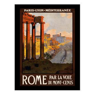 Voie du Mont-Cenis för Rome parla Vykort