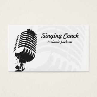 Vokalist Visitkort