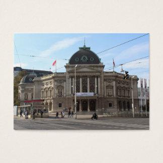 Volkstheater Wien Österrike Visitkort
