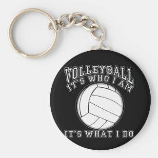Volleyboll - det är vem I-förmiddagen Rund Nyckelring