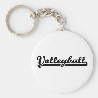 Volleyboll Rund Nyckelring