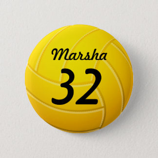 Volleyboll Standard Knapp Rund 5.7 Cm