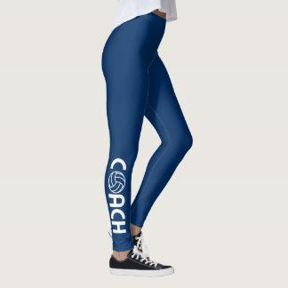 Volleybolllagledaremörk - blått leggings