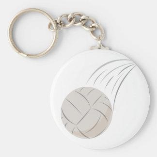 Volleybollsport Rund Nyckelring