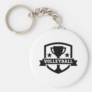 Volleybolltrofé Rund Nyckelring