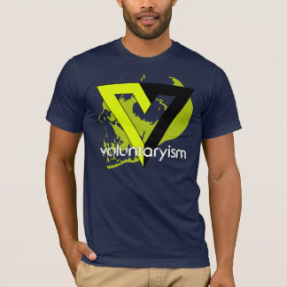 Voluntaryist Non-Agression T Shirts