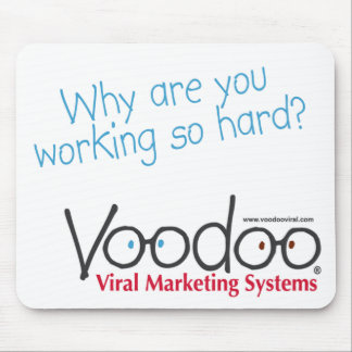 "Voodoo ""arbetsamma"" Mousepad Musmatta"