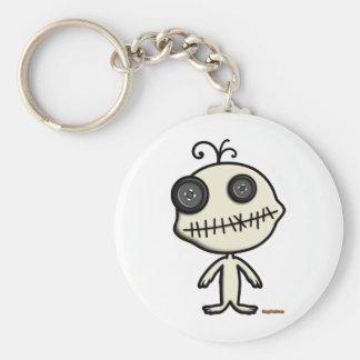 Voodoo Dool Keychain Rund Nyckelring