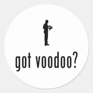 Voodoo Runt Klistermärke