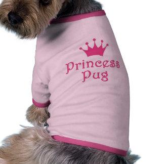 """VovveT-tröja """"för Princess Mops"""" Ringer Hundtöja"""