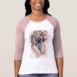 Vråla tigerskjortan tshirts