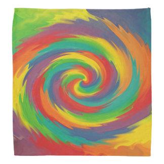 Vriden regnbåge scarf