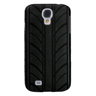 Vroom: Däckiphone case för Auto tävla Galaxy S4 Fodral