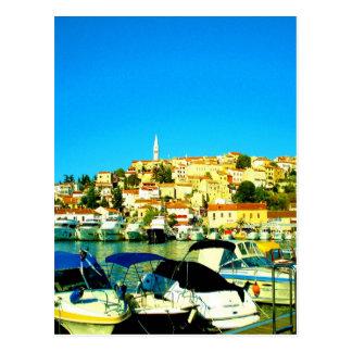 vrsar istria croatia för helgdagparadissommar vykort