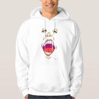 """Vuxen Hooded tröja """"för rop"""""""