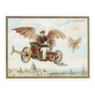 Vykort 1900 för AuBonMarche Palais Victorian