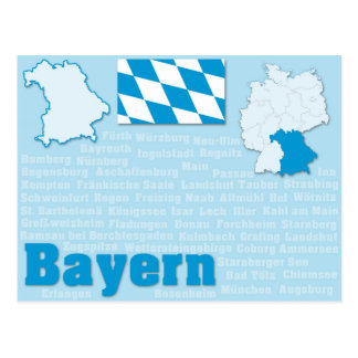 "Vykort ""Bayern "","