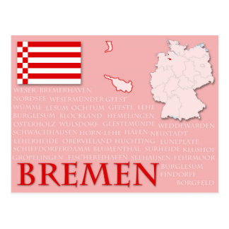 "Vykort ""Bremen "","