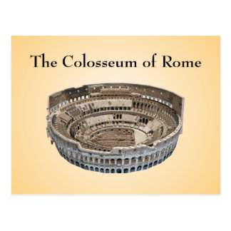 Vykort: Colosseumen av Rome Vykort